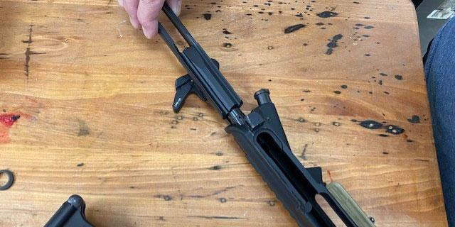 AR 15 Disassembly