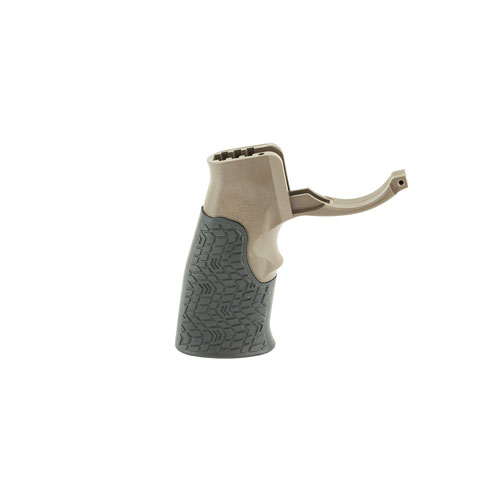 Daniel Defense AR 15 Grip W/Trigger Guard - Brown
